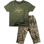 Duck Commander Toddler Boys' T-shirt and Pant Set
