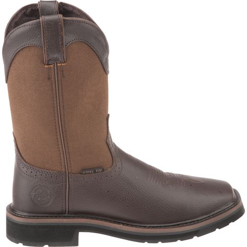 Justin Men s Original Workboots Stampede Pull-On Hunting Boots