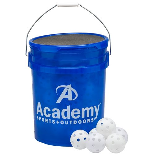 Academy Sports + Outdoors™ Plastic Training Baseballs 48-Count Bucket