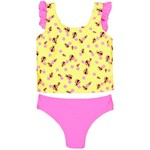 O'Rageous® Girls' Dotty Bug 2-Piece Swimsuit