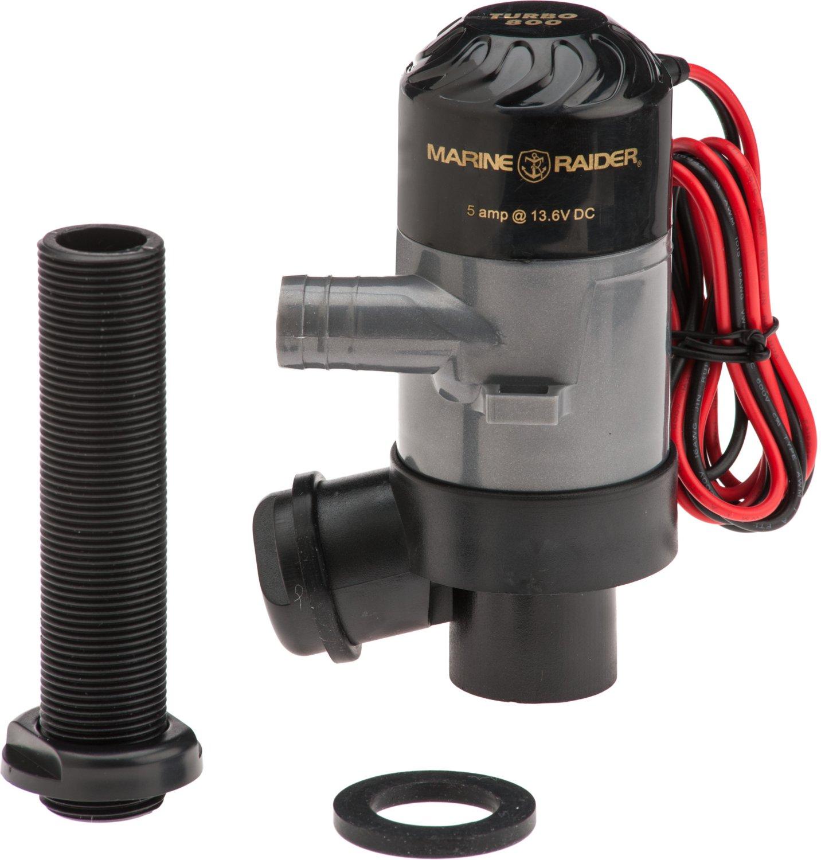Marine Raider 800 Gph Livewell Pump