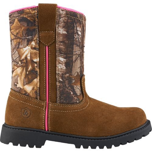 Game Winner® Girls' Camo Wellington II Boots