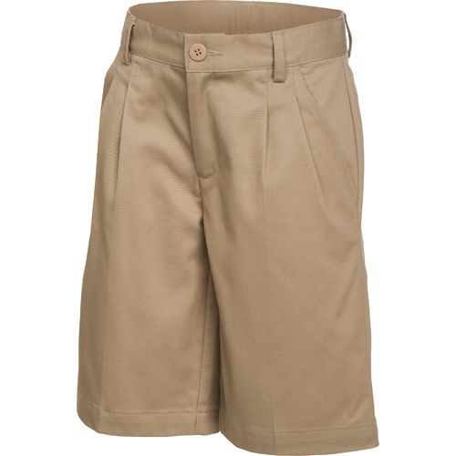 Austin Trading Co. Boys' Pleated Twill Uniform Short
