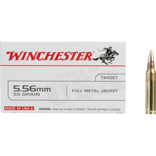 Winchester USA Full Metal Jacket 5.56 x 45 mm 55- Rifle Ammunition - view number 2