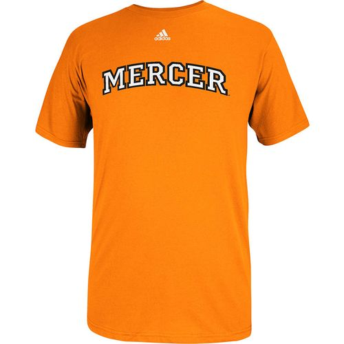 adidas™ Men's Mercer University Team Font Short Sleeve T-shirt