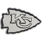 Stockdale Kansas City Chiefs Chrome Metal Freeform Auto Emblem