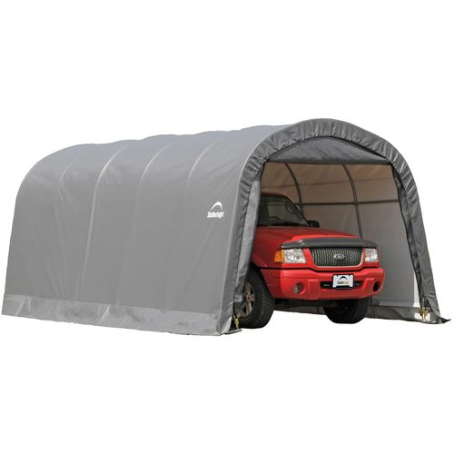 ShelterLogic Garage-in-a-Box RoundTop® 12' x 20' Storage Shelter - view number 1