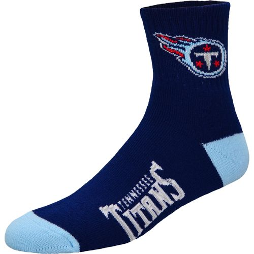 For Bare Feet Men's Tennessee Titans Originals Team Quarter Socks