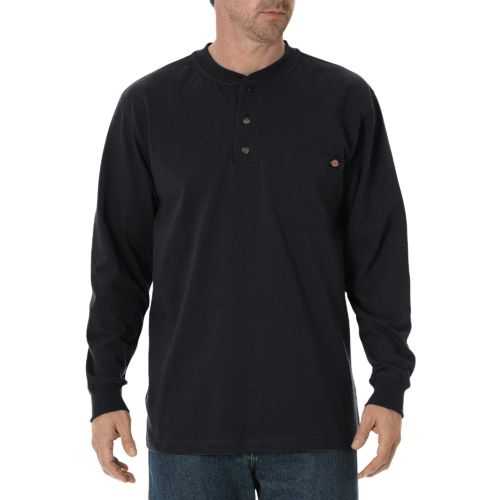 Dickies Men's Long Sleeve Heavyweight Henley - view number 1