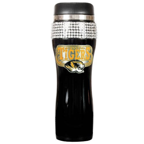 Great American Products University of Missouri Stainless Steel Bling 14 oz. Tumbler