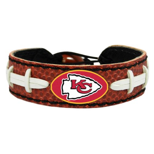 GameWear Kansas City Chiefs Classic NFL Football Bracelet