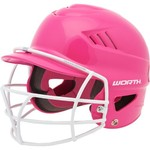 Worth® Kids' Batting Helmet with Face Guard