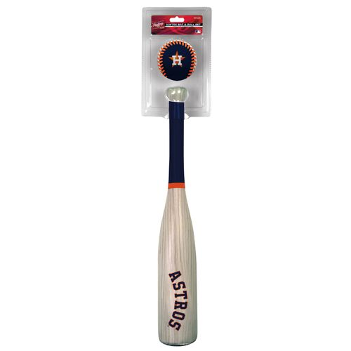 Rawlings Kids' Houston Astros MLB Grand Slam Bat and Ball Set