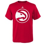 adidas Boys' Atlanta Hawks Old School Logo T-shirt
