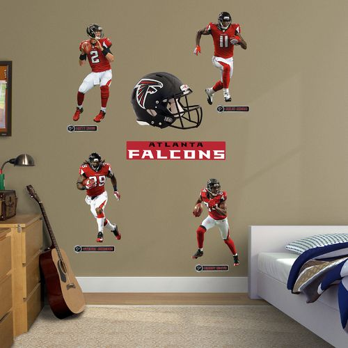 Fathead Atlanta Falcons Decals Power Pack