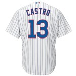 Majestic Men's Chicago Cubs Starlin Castro #13 Cool Base® Replica Jersey