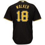 Majestic Men's Pittsburgh Pirates Neil Walker #18 Cool Base® Jersey