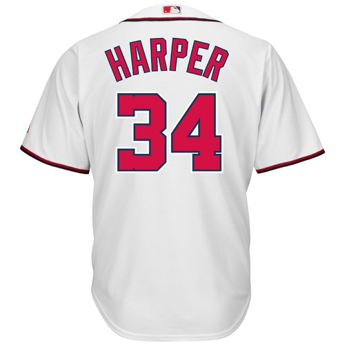 Majestic Men's Washington Nationals Bryce Harper #34 Cool Base® Jersey