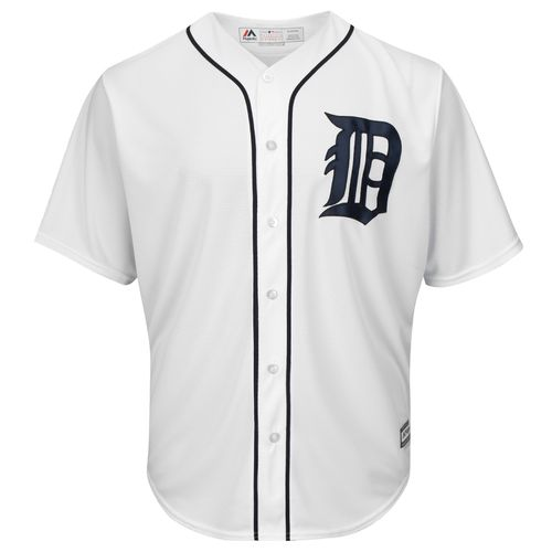 Majestic Men's Detroit Tigers Cool Base® Replica Jersey
