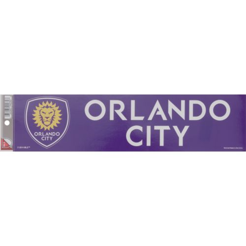 WinCraft Orlando City SC Bumper Strip