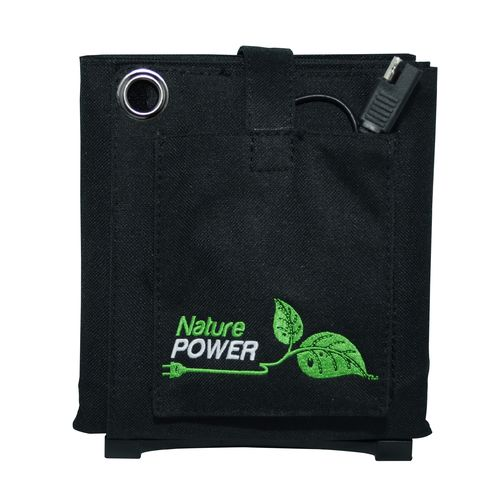 Nature Power 18W Folding Solar Panel with 8 Amp Charge Controller - view number 2