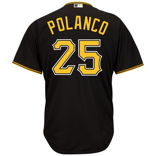 Majestic Men's Pittsburgh Pirates Gregory Polanco #25 Cool Base® Jersey
