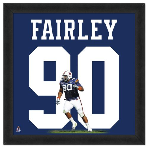 Photo File Auburn University Nick Fairley #90 UniFrame 20' x 20' Framed Photo