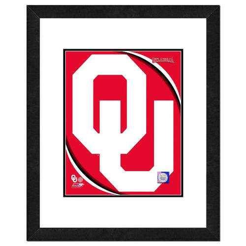 Photo File University of Oklahoma 8' x 10' Team Logo Photo