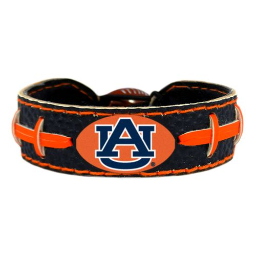 GameWear Auburn University Team Color Football Bracelet