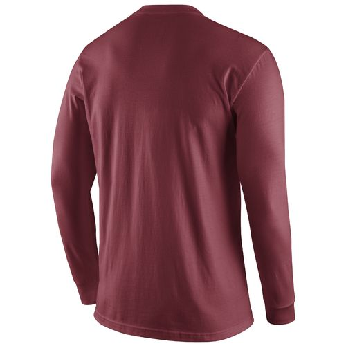 Nike™ Men's University of Oklahoma Long Sleeve Logo T-shirt - view number 2