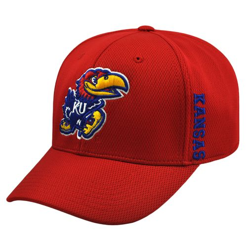 Top of the World Adults' University of Kansas Booster Cap