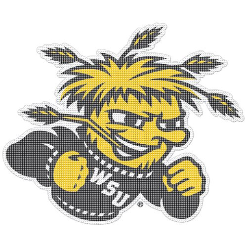 "Stockdale Wichita State University 12"" x 12"" Auto Perfz Decal"