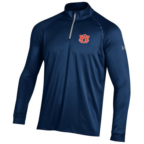 Under Armour™ Men's Auburn University Tech 1/4 Zip T-shirt