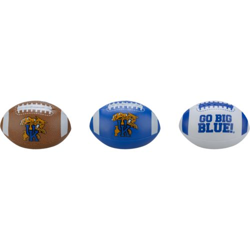 Rawlings® Boys' University of Kentucky 3rd Down Softee 3-Ball Football Set