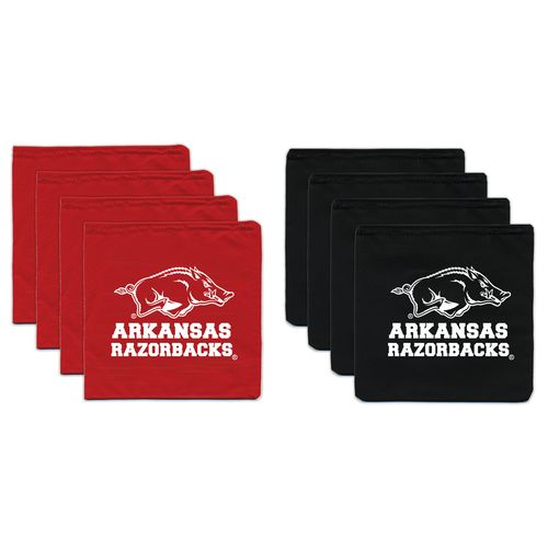 BAGGO® University of Arkansas 12 oz. Replacement Beanbag Toss Beanbags 8-Pack