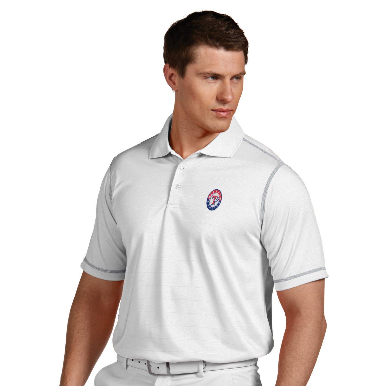 Antigua Men's Texas Rangers Icon Polo Shirt - view number 2