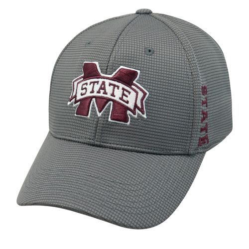 Top of the World Men's Mississippi State University Booster Plus Cap - view number 1