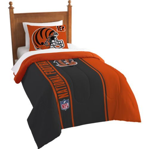 The Northwest Company Cincinnati Bengals Twin Comforter and Sham Set