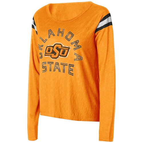 Touch by Alyssa Milano Women's Oklahoma State University Cascade Long Sleeve T-shirt