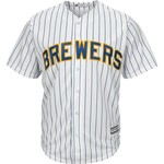 Majestic Men's Milwaukee Brewers Matt Garza #22 Cool Base® Jersey - view number 2
