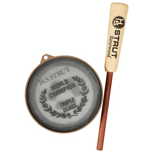 Hunter's Specialties Strut World Champion Triple Glass Wild Turkey Call