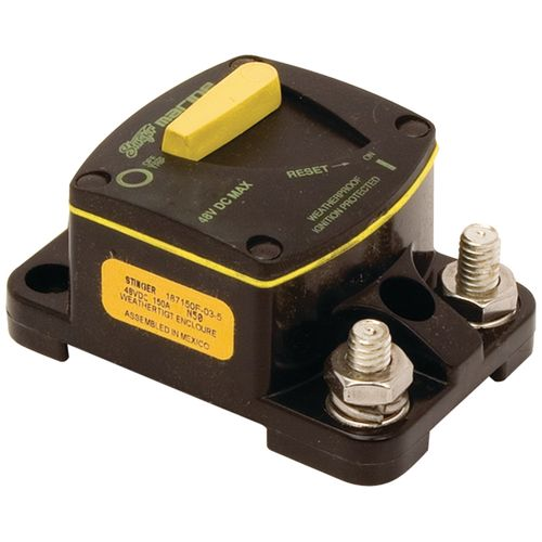 Stinger 100-Amp Marine Circuit Breaker