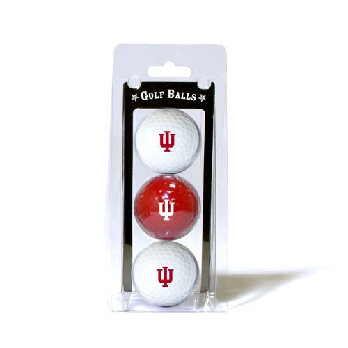 Team Golf Indiana University Golf Balls 3-Pack - view number 1