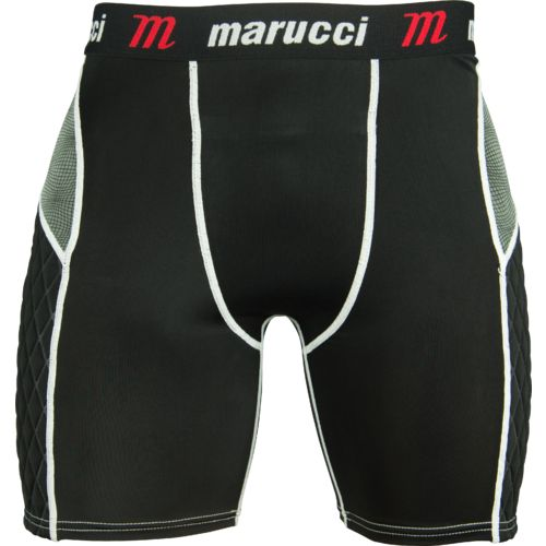 Marucci Adults' Elite Padded Slider Baseball Short - view number 1
