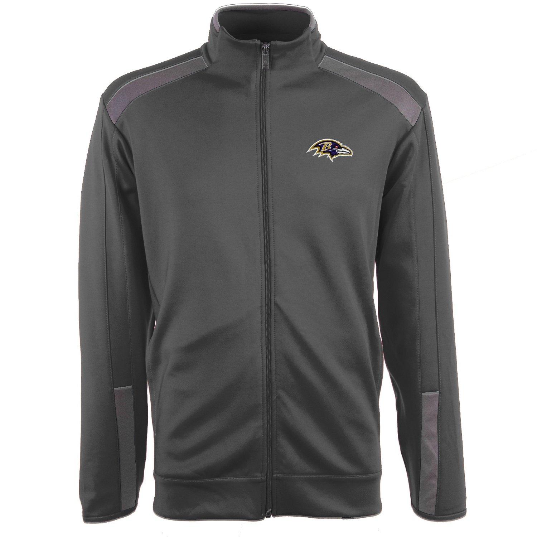 Antigua Men's Baltimore Ravens Flight Jacket