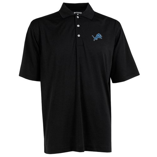 Antigua Men's Detroit Lions Phoenix Polo Shirt - view number 1