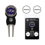 Team Golf Baltimore Ravens Divot Tool and Ball Marker Set - view number 1