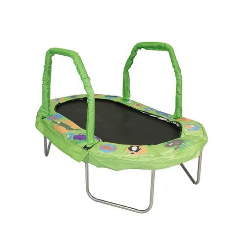 Jumpking 38' x 66' Mini Oval Trampoline with Pad