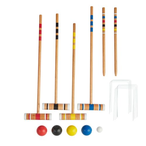 Superior™ Backyard Croquet and Bocce Combo Set