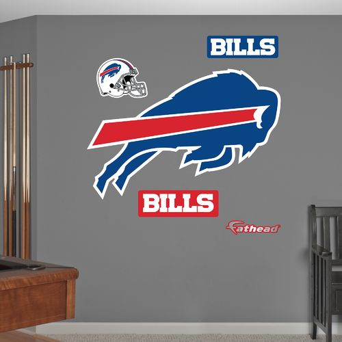 Fathead Buffalo Bills Real Big Team Logo Decal